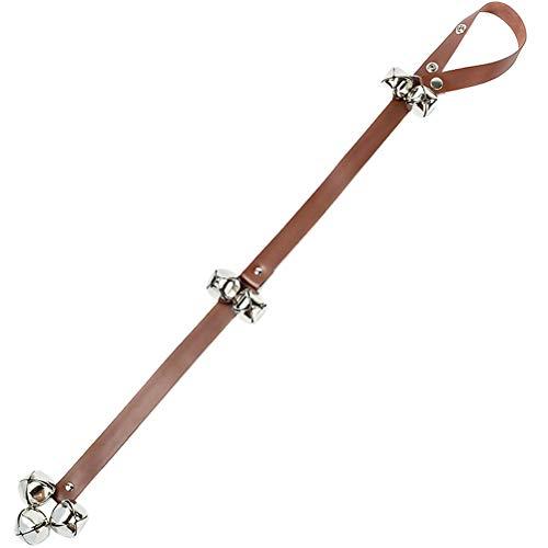 ruiyoupin - Set de timbre para perros, longitud ajustable, cinturón de timbre para perros, entrenamiento para cachorros
