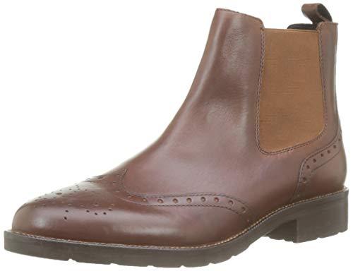 Geox Damen D BETTANIE G Chelsea Boots, Braun (Brown C0013), 40 EU