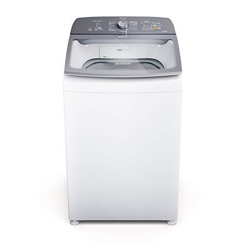 Máquina de Lavar Brastemp 12Kg branca Água Quente com Ciclo Tira Manchas Pro e Ciclo Antibolinha - BWR12AB 110V