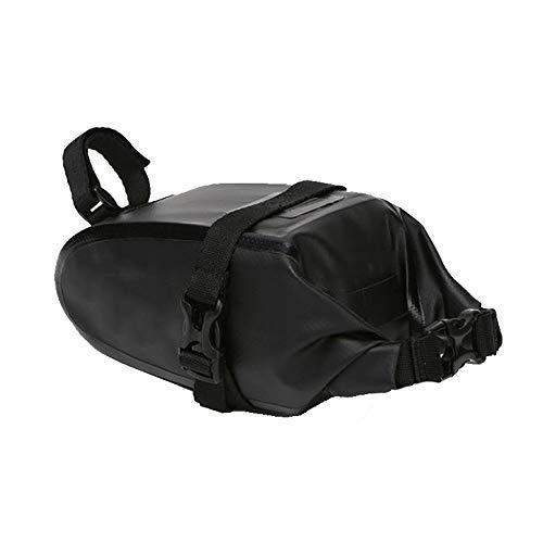 WJQ Fahrradsatteltasche Mountainbike-Sitzpaket Keilsatz Reitzubehör, solide und langlebig Komfortabel Atmungsaktiv Wasserdicht Spritzwassergeschützt Leicht zu reinigen