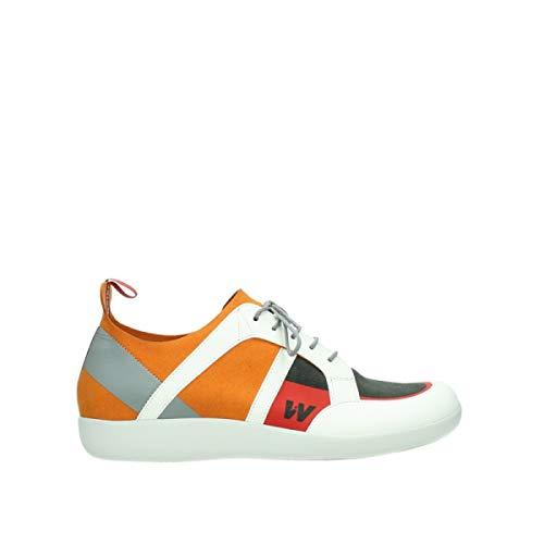 Wolky Comfort Sneakers Base - 00555 orange/rot Kunststoff - 39