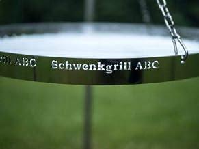 Schwenkgrill-ABC – Runder Grillrost 60 cm 60 cm