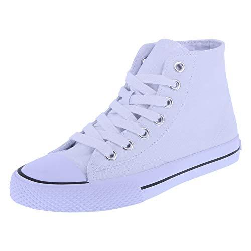 Airwalk Kids' Black White Kids' Legacee Sneaker High-Top 3 Regular