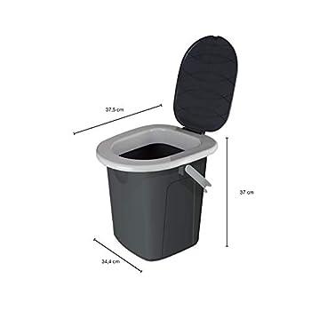 BranQ - Home essential BranQ 1306 Toilettes de Camping Gris Taille