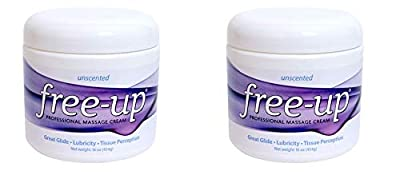 Professional Massage Cream 16 oz. Unscented (Pack of 2)