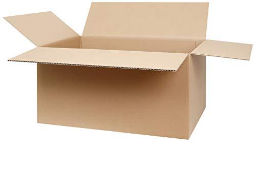 25 Faltkartons 600 x 400 x 300 mm | Versandkarton geeignet für Versand mit DPD, GLS und Hermes | zwischen 25-1000 Kartons wählbar