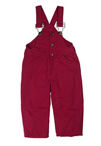 Kanz Mädchen Latzhose 1444102, Einfarbig, Gr. 86, Rot (red bud|pink 2530)