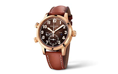 Patek Philippe Complications Rose Gold 7234R-001 with Brown Sunburst dial