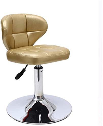 Económica práctica camas Reserva silla de la computadora, el levantamiento de cuero de la PU Taburete delantero del escritorio de oficina de negocios Sala de confort Silla de Negociación eslabón ,Red