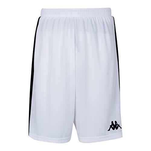 Kappa Caluso Basketballhose Unisex Kinder Einheitsgröße weiß
