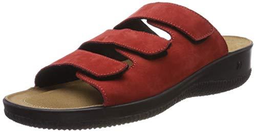 Romika Salina 01, Zapatillas de Estar por casa para Mujer, Rojo (Rot 10 400), 44 EU