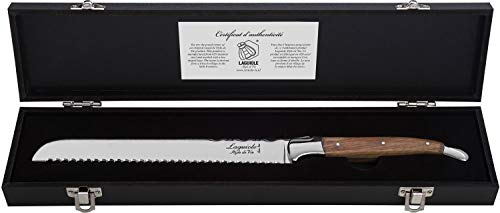 Laguiole Style de Vie Brotmesser Luxury Line, Olivenholz