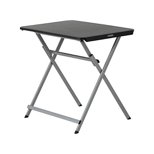 Lifetime à Vie 80623 30 in. (76 cm) Pliable Personnel Table, Noir, 50.8 x 50.8 x 76.2 cm