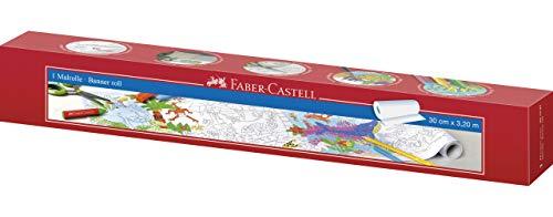 Faber-Castell 201397 - Malrolle mit Dschungel- und Unterwasserwelt