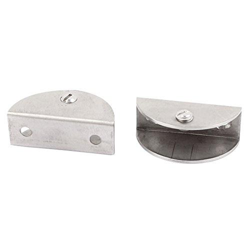 Aexit Küche Handwerkzeuge halbrund Clip Clamp Halterung für 16mm Dicke Zwingen, Klemmen & Spanner Glas 2
