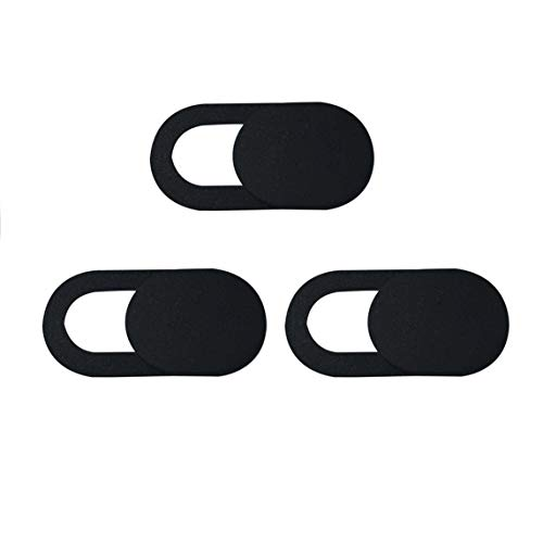 3 unids/set Metal forma ovalada Mini cubierta de cámara web obturador imán deslizador cubierta de cámara para Web portátil PC tableta privacidad