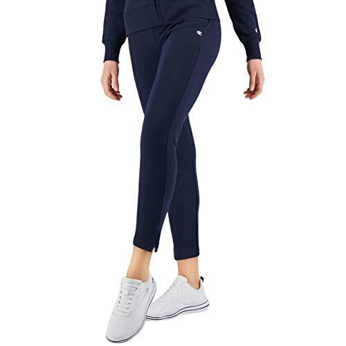 Champion Seasonal AC Slim Crop Pants Pantaloni, Blue, M Donna