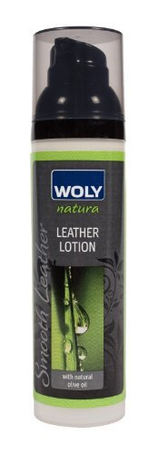 Woly Nautra Leather Lotion. Protects Shoes & Handbags Against Cracking. Made All Natural Ingredients.
