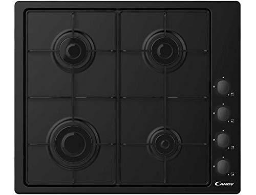 Plaque gaz Candy CHW640BLB - Plaque de cuisson 4 foyers