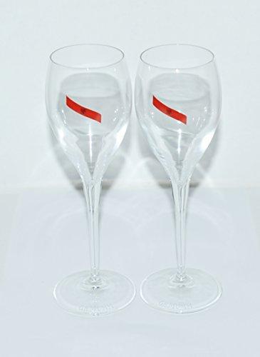g.h. Mumm champagne flutes coppia
