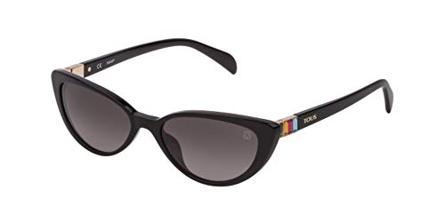 TOUS Stoa53s, Gafas De Sol Mujer, Shiny Black (0700)
