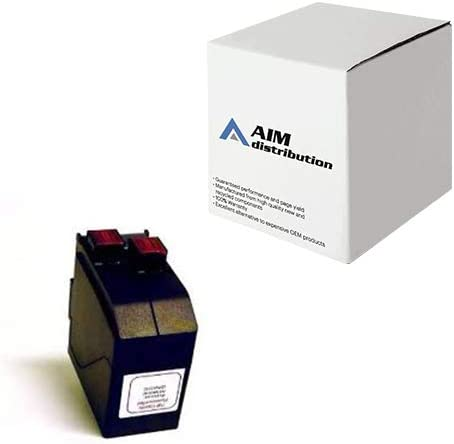 AIM Compatible Replacement for Hasler IM-330/480 Red High Yield Inkjet (19500 Page Yield) (41355554T) - Generic