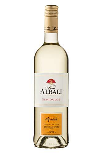 Viña Albali Viña Albali Blanco Semidulce - 6 Paquetes de 750 ml - Total: 4500 ml