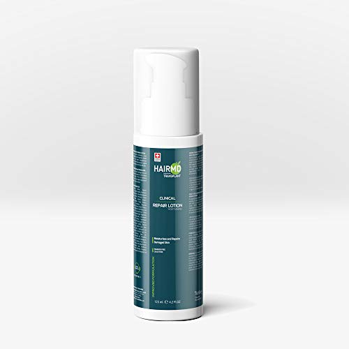HairMD Transplant Clinical Repair Lotion - 125ml Hair Lotion for Post-Hair Transplant - Gentle and Mild Formula - Nourishing and Moisturizing on Sensitive Skin - Protects the Scalp