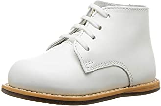 Josmo baby girls Unisex Walking First Walker Shoe, White, 4 Infant US