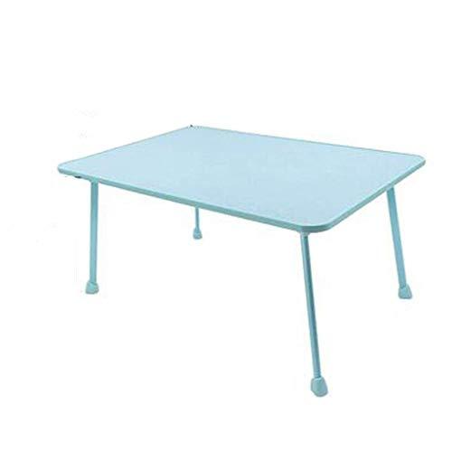 WTT Opvouwbare bureautafel voor laptop, luie tafel, salontafel op het bed, kleine tafel voor kinderen (kleur: roze, afmetingen: 45 cm x 68 cm)
