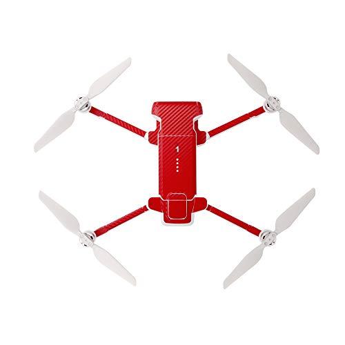 Linghang - Adesivi in PVC per Xiaomi FIMI X8 SE / FIMI X8 SE 2020 Drone e batteria, impermeabili, colore: Rosso