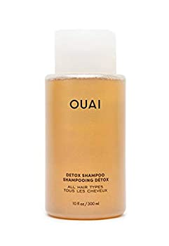 OUAI Detox Shampoo Clarifying Cleanse for Dirt Oil Product and Hard Water Buildup Get Back to Super Clean Soft and Refreshed Locks  10 oz
