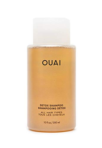 OUAI Detox Shampoo. Clarifying Cleanse for Dirt, Oil, Product and Hard Water Buildup. Get Back to Super Clean, Soft and Refreshed Locks. (10 oz)