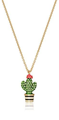 Kate Spade New York Cactus Mini Pendant Necklace