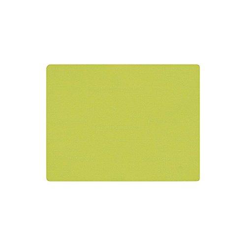 Duni 165469 Sets de table, EN SILICONE, 30 cm x 45 cm, kiwi (lot de 30)