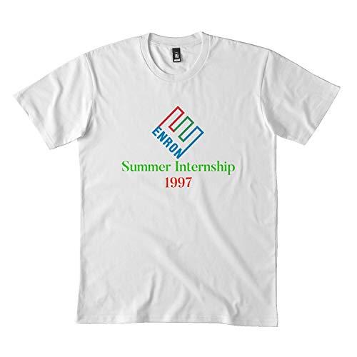 LimsayK Enron Summer Internship 1997 DMN t-Shirt bl Black