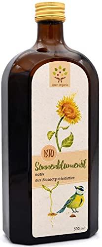 Bio-Sonnenblumenöl 500ml