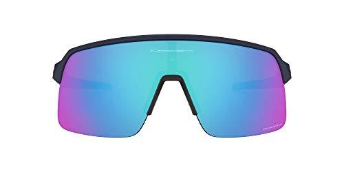 Oakley Unisex Oo9463 Sutro Lite Sonnenbrille, Matte Navy/Prizm Sapphire, 39/13/138
