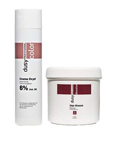 Dusy Professional Creme Oxyd 250ml 6% + Dusy Star Bleach Blondierpulver 100g