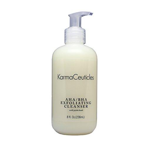 KarmaCeuticles AHA BHA Exfoliating Cleanser, 8 oz.