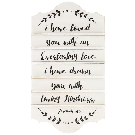 Jeremiah 31:3 Hymn Board Wood Wall Decor | Hobby Lobby | 1550201