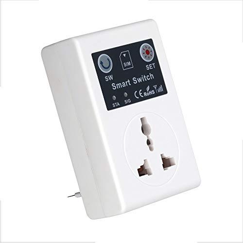 Anself 220 V telefono SMS RC Wireless telecomando Smart Switch GSM presa alimentazione spina Interruptor per elettrodomestici casa