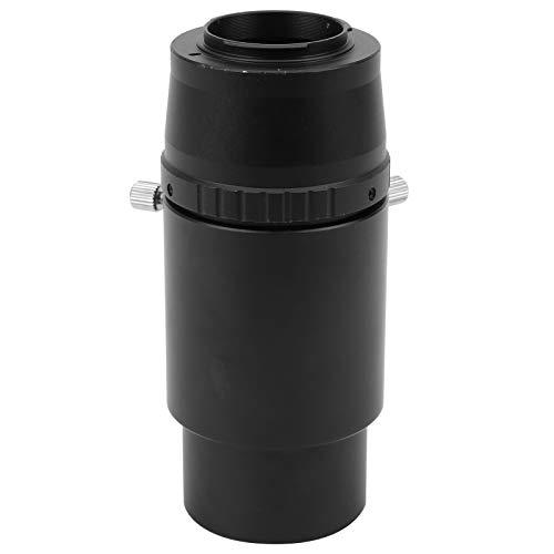 Adaptador de telescopio, Tubo de extensión de Ocular de 2 Pulgadas y 60 mm, Anillo Adaptador T2-N1 para telescopio astronómico de Montaje T2 para cámaras para Nikon J1/J2/J3/J4/J5/V1/V2/V3
