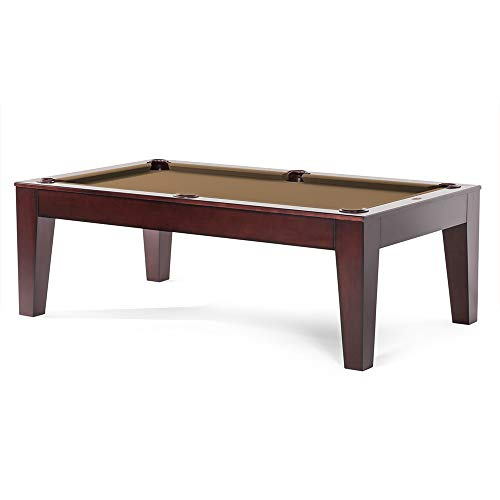 Why Choose Spencer Marston 8 ft Serotina Dining Pool Table - Includes Mocha Simonis 860 Cloth and W...