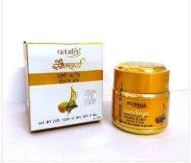 Patanjali Saudarya Swarn Kanti Fairness Cream 50 Grams (Big)