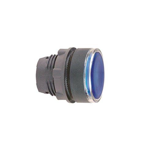 Schneider SCHN Leuchttaster ZB5AW363 flach blau Frontelement Leuchtdrucktaster, Durchmesser 22 cm