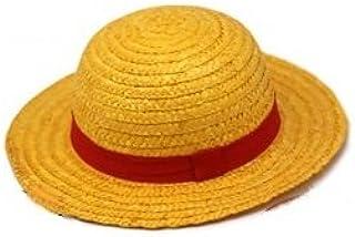 [sealche] ルフィになりきり 麦わら帽子 (ワンピース ONE PIECE ルフィ コスプレ衣装用) お子様・女子向けサイス ユニバーサル・スタジオ コスチューム 小道具 保証書付き 黄色