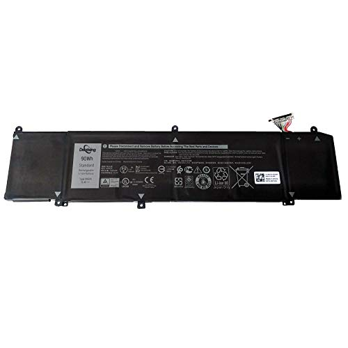 Dentsing XRGXX 11.4V 90Wh/7500mAh 6-Cell Laptop Battery Compatible with Dell G5 15 5590 G7 15 7590 G7 17 7790 Alienware M15 M17 Series Notebook 06YV0V 1F22N