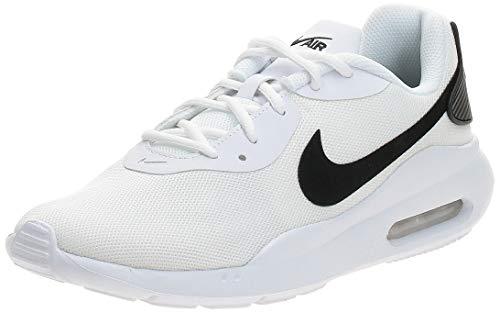 Nike Air MAX Oketo, Zapatillas Deportivas. Hombre, Blanco y Negro, 44 EU