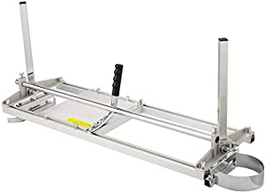 CO-Z Portable Chainsaw Mill Planking Milling 14 Inches to 36 Inches Guide Bar Wood Lumber Cutting Sawmill Aluminum Steel Chainsaw Mill for Builders and Woodworkers